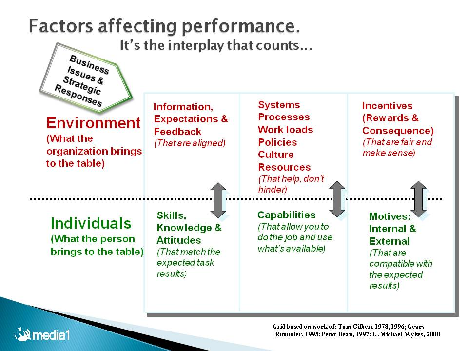 factors effecting performance of employees Keywords: factors affecting performance appraisal performance management system is defined as a tool in the strategic human resource management used by organization to evaluate the overall performance of employees (gary dessler, 2005.